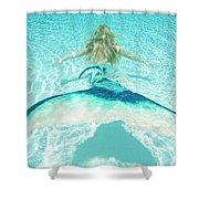 Mermaid Escape 2 Shower Curtain