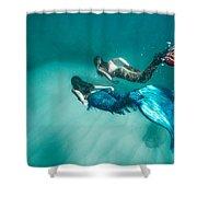 Mermaid Friends Shower Curtain
