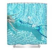 Mermaid Glide Shower Curtain