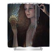 Mermaid Shower Curtain by Jane Whiting Chrzanoska