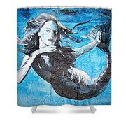 Mermaid Life Shower Curtain