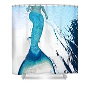 Mermaid Rise Shower Curtain