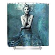Mermaid Water Spirit Shower Curtain
