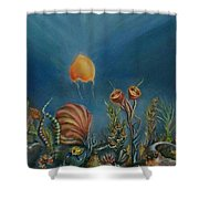 Mermaids' Blink Shower Curtain