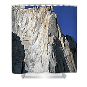 Merriam Peak, Sierra Nevada, August 2016 Shower Curtain
