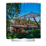 Merriam Street Bridge Shower Curtain