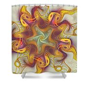 Merriment Of Color Shower Curtain