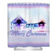 Merry Christmas #181 Shower Curtain