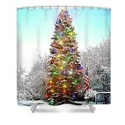 Merry Christmas 2015 Shower Curtain