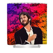 Merry Christmas Josh Groban Shower Curtain