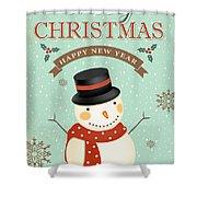Merry Christmas-jp2766 Shower Curtain