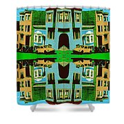Merry Christmas Tales Shower Curtain