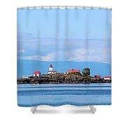 Merry Island Shower Curtain