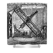 Merz Telescope, Royal Observatory Shower Curtain