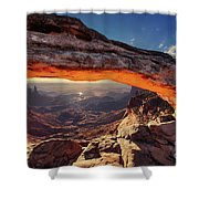 Mesa Arch At Sunrise Shower Curtain
