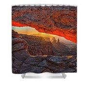 Mesa Arch Sunrises Glow Shower Curtain