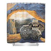 Mesa Arch Magic Shower Curtain