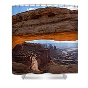 Mesa Arch Morning Glow Shower Curtain
