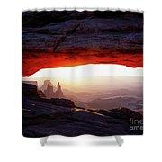 Mesa Arch Sunrise 4 Shower Curtain