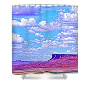 Mesa At Vermilion Cliffs Shower Curtain