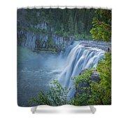 Mesa Falls - Yellowstone Shower Curtain
