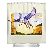 Mesa Pegasus Shower Curtain