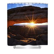 Mesa Sunrise Shower Curtain
