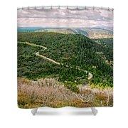 Mesa Verde Park Overlook II Shower Curtain