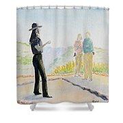 Mesa Verde Ranger Shower Curtain