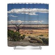 Mesa View In Utah Shower Curtain