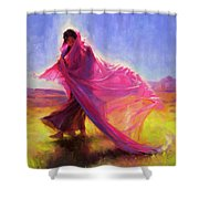 Mesa Walk Shower Curtain