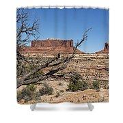 Mesas Near Moab Shower Curtain