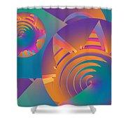 Mescalito Shower Curtain
