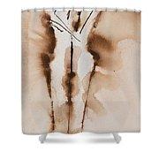 Mesh II  His Divine Love Series No. 1285 Shower Curtain