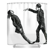 Mesmerism, 19th Century Shower Curtain