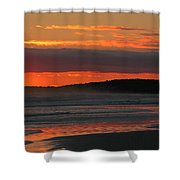 Mesmerize Me Sunset Shower Curtain