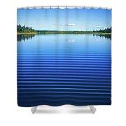 Mesmerizing Ripples Shower Curtain