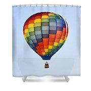 Mesquite Balloon Festival In Mesquite Nevada Shower Curtain