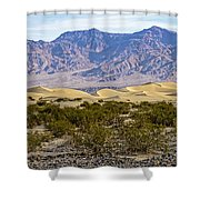 Mesquite Flat Sand Dunes Shower Curtain