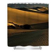 Mesquite Flat Sand Dunes Shower Curtain