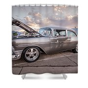 Mesquite Motor Mania Shower Curtain