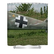 Messerschmitt Bf109 - 3 Shower Curtain