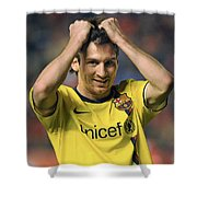 Messi 2 Shower Curtain