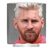 Messi 2016 Shower Curtain