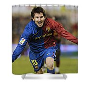 Messi 1 Shower Curtain