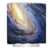 Messier 66 Shower Curtain