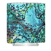 Messy Decision Shower Curtain