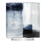 Mestro 3- Abstract Art By Linda Woods Shower Curtain