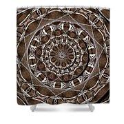 Metal Art Shower Curtain