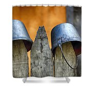 Not Soldiers Shower Curtain